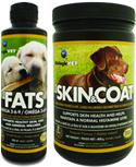 Supplements for dog's skin issues